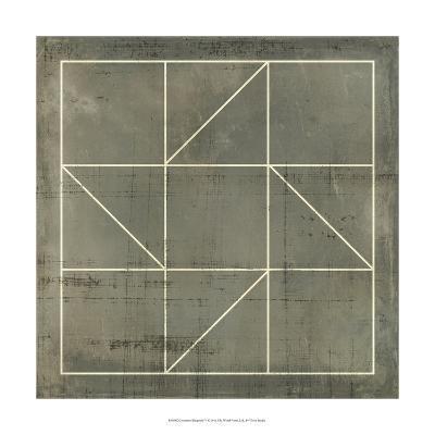 Geometric Blueprint IV--Art Print
