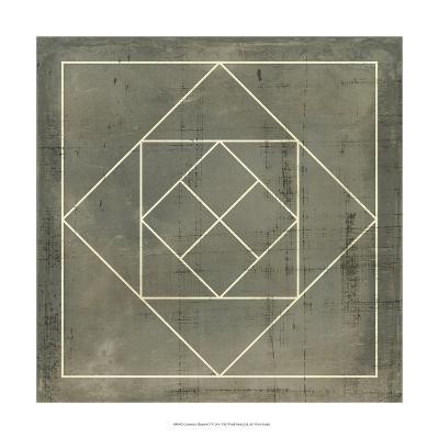 Geometric Blueprint V--Art Print