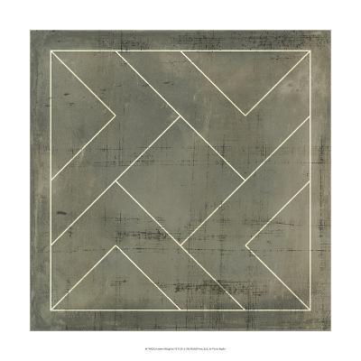 Geometric Blueprint VI--Art Print