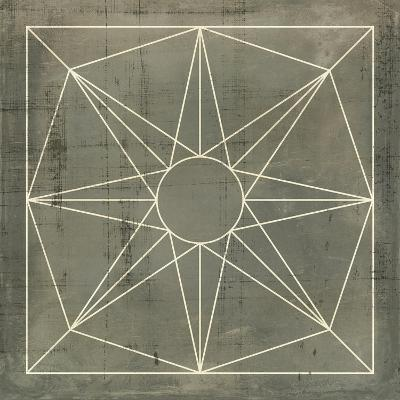 Geometric Blueprint VII--Art Print
