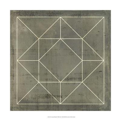 Geometric Blueprint VIII--Giclee Print