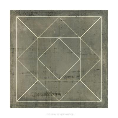 Geometric Blueprint VIII--Art Print