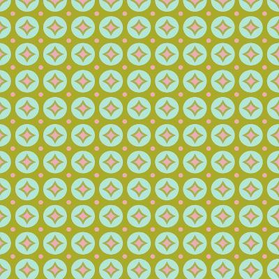 Geometric Circles-Joanne Paynter Design-Giclee Print