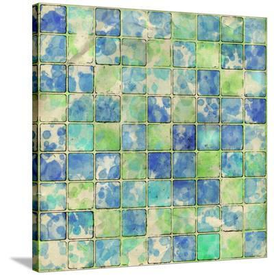 Geometric Color Shape I--Stretched Canvas Print