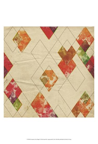 Geometric Color Shape II-Irena Orlov-Art Print