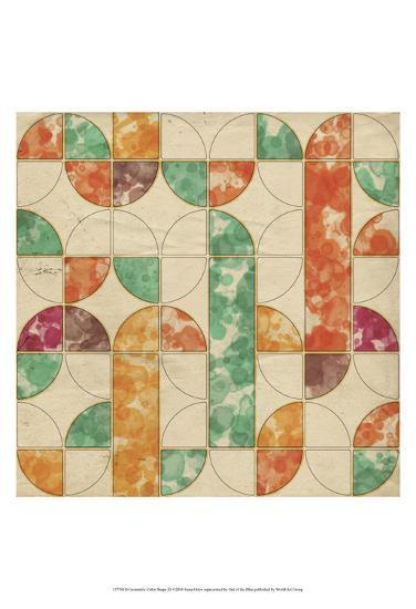 Geometric Color Shape III-Irena Orlov-Art Print