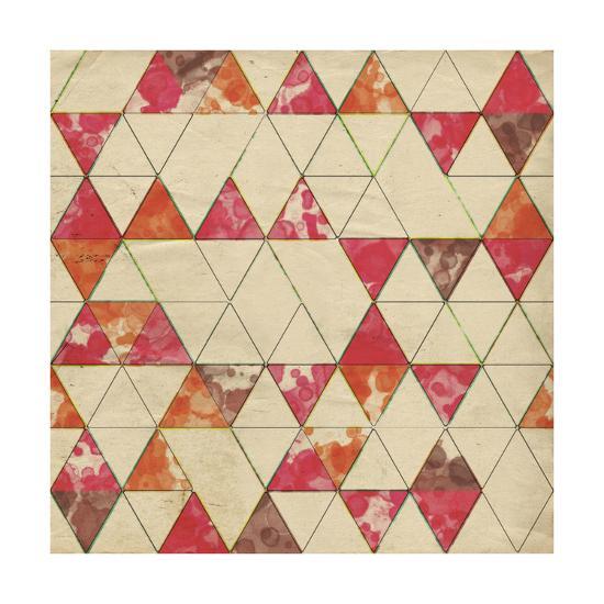 Geometric Color Shape IV-Irena Orlov-Art Print