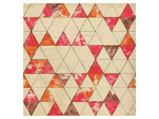 Geometric Color Shape VI--Art Print