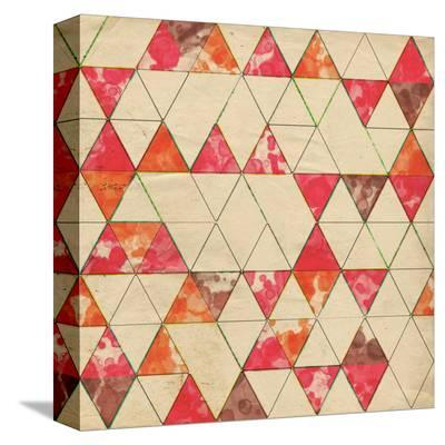 Geometric Color Shape VI--Stretched Canvas Print
