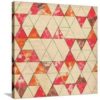 Geometric Color Shape VI--Stretched Canvas Print