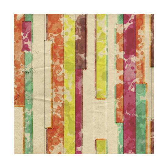 Geometric Color Shape VII-Irena Orlov-Art Print