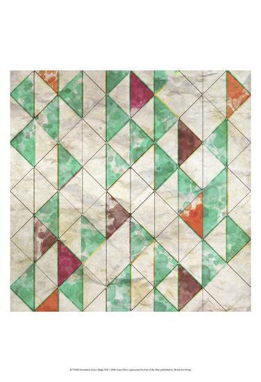 Geometric Color Shape VIII-Irena Orlov-Art Print