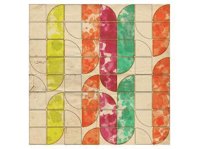 Geometric Color Shape XI--Art Print