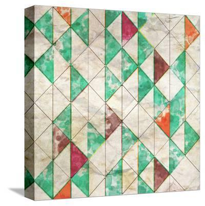 Geometric Color Shape XIII--Stretched Canvas Print