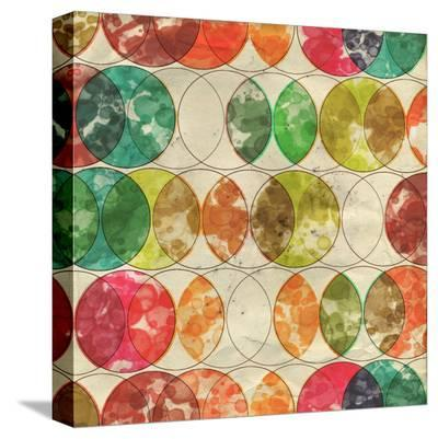 Geometric Color Shape XIV--Stretched Canvas Print