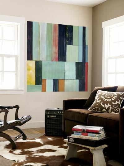 Geometric Conglomeration I-Grace Popp-Wall Mural