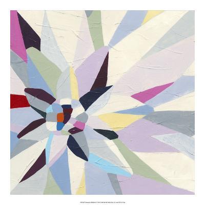 Geometric Dahlia I-June Vess-Premium Giclee Print