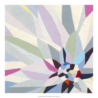 Geometric Dahlia II-June Vess-Premium Giclee Print