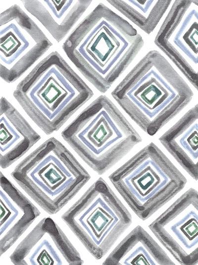Geometric Daze-Lottie Fontaine-Giclee Print