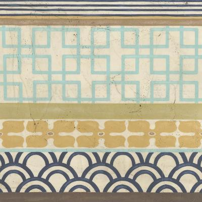 Geometric Frieze III-Erica J^ Vess-Art Print