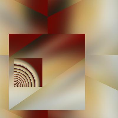 Geometric Fusion-Ruth Palmer-Art Print
