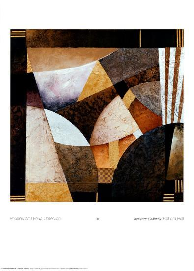 Geometric Garden-Richard Hall-Art Print