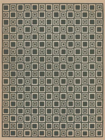 Geometric Gray and Black Patterns--Art Print