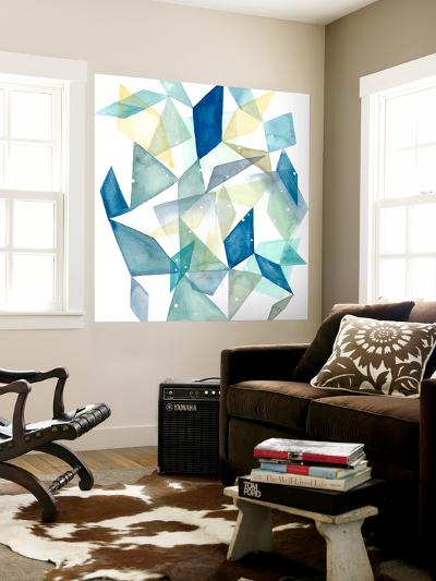 Geometric Jewel Abstract II-Grace Popp-Wall Mural