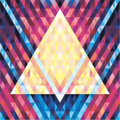 Geometric Pattern 02- serkorkin-Art Print