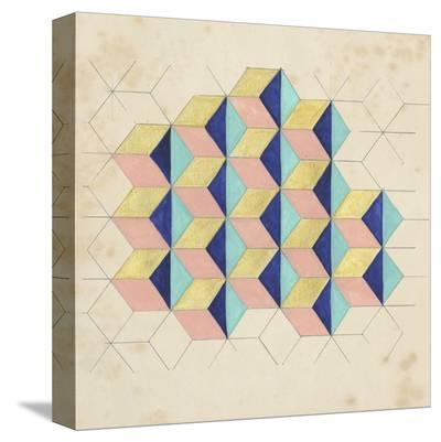 Geometric Pattern Play I-Naomi McCavitt-Stretched Canvas Print