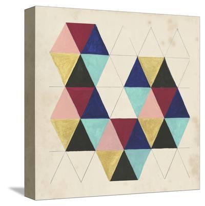 Geometric Pattern Play III-Naomi McCavitt-Stretched Canvas Print