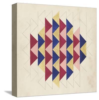 Geometric Pattern Play IV-Naomi McCavitt-Stretched Canvas Print