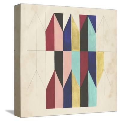 Geometric Pattern Play V-Naomi McCavitt-Stretched Canvas Print