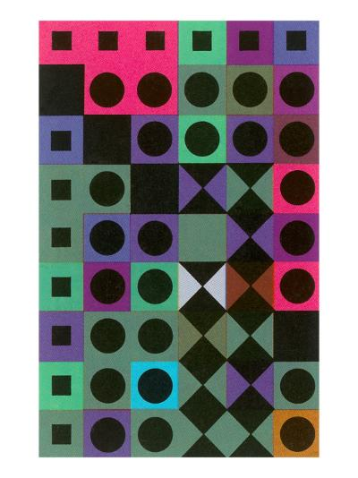 Geometric Patterns--Art Print