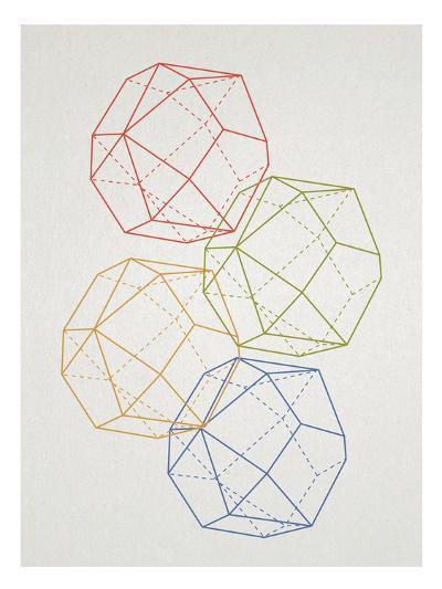 Geometric Pop Art--Poster