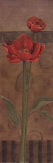 Geometric Poppy I-Carol Robinson-Art Print