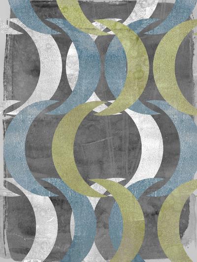 Geometric Repeat II-Jennifer Goldberger-Art Print