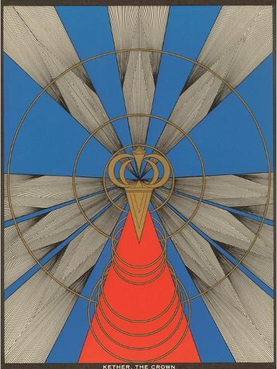 Geometric Representation of Kether, the Crown--Art Print