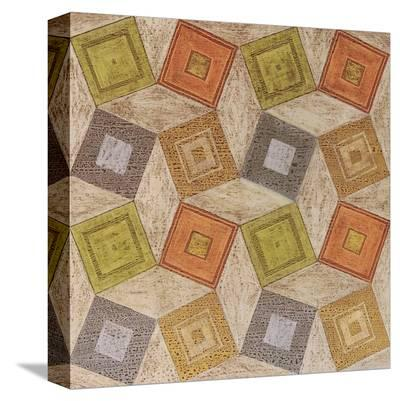 Geometric Scatter-Anna Becker-Stretched Canvas Print