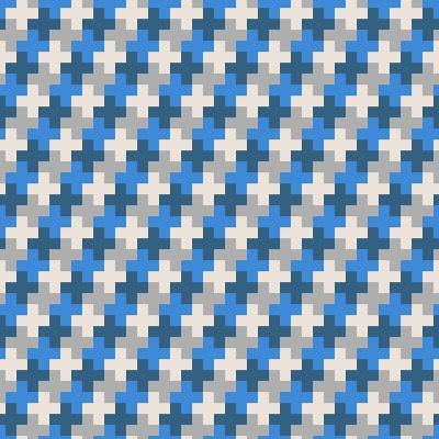 Geometric Seamless Pattern-Shonkar-Art Print