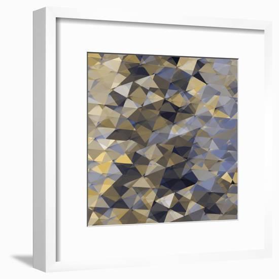 Geometric Squared I-Jan Tatum-Framed Giclee Print