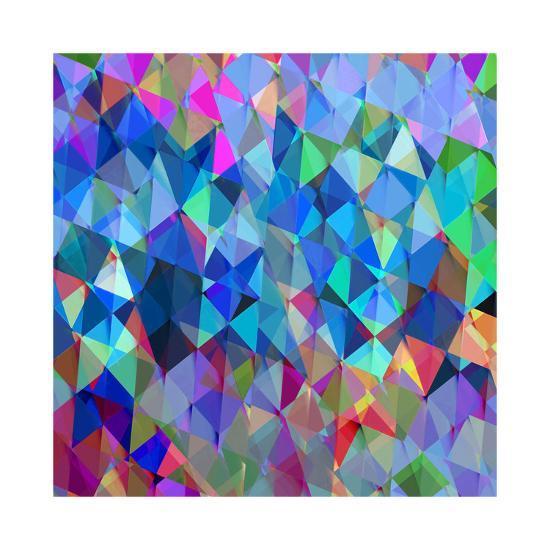 Geometric Squared IV-Jan Tatum-Giclee Print