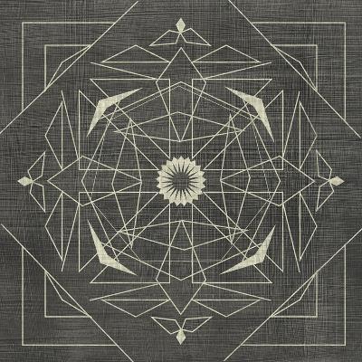 Geometric Tile IX-Chariklia Zarris-Art Print