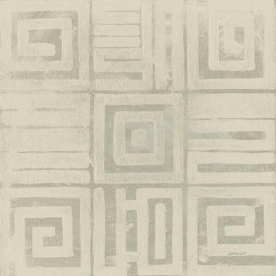 Geometric Tone on Tone III Dark-Kathrine Lovell-Art Print