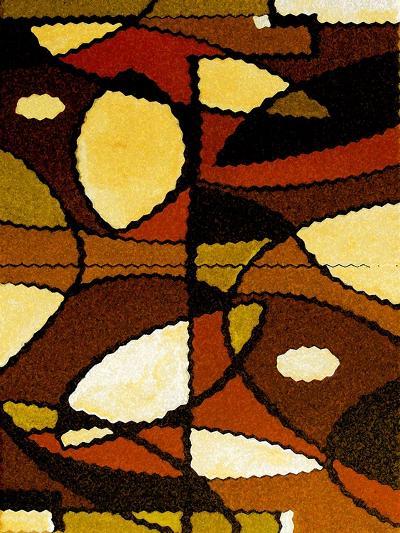 Geometric Waves-Ruth Palmer-Art Print