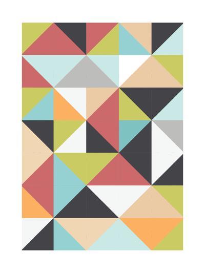 Geometric Winter-Moha London-Giclee Print