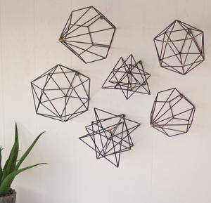 Geometric Wire Art Set