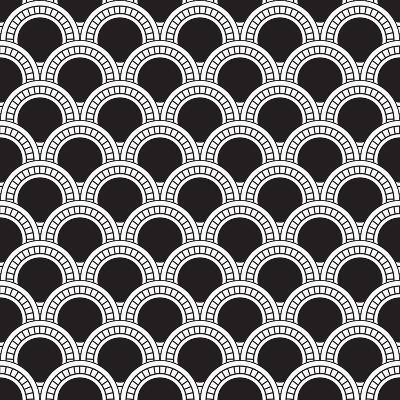 Geometrical Pattern-matik22-Art Print