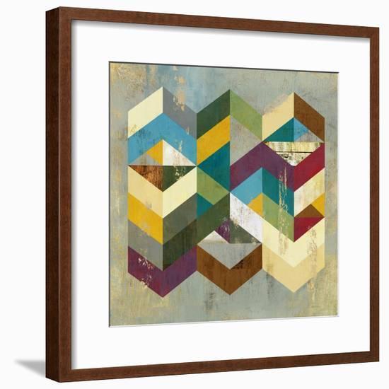 Geometrics I-Anna Polanski-Framed Art Print