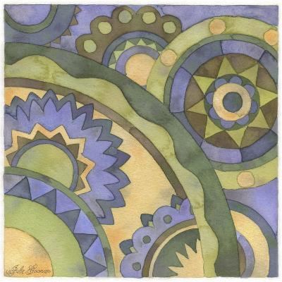 Geometry and Color Part 2 - # 2-Julie Goonan-Giclee Print